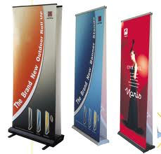 display stands and banners