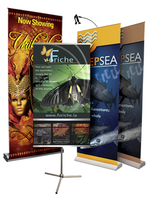 Banner Stands Squared Off Designs - Vinyl banners stands