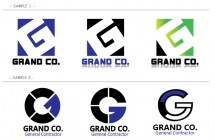 Grand Co logo design