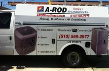A-Rod Heating & Air Vehicle Graphics & Lettering